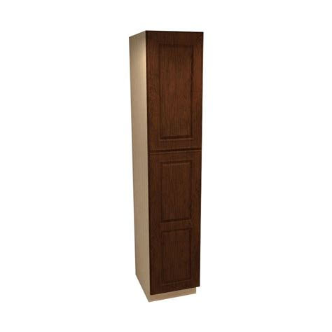 unfinished assembled 24 x 84 x 18 in pantry utility home decorators collection roxbury assembled 18 x 84 x 24