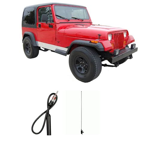 jeep radio antenna jeep wrangler 1984 1996 factory oem replacement radio