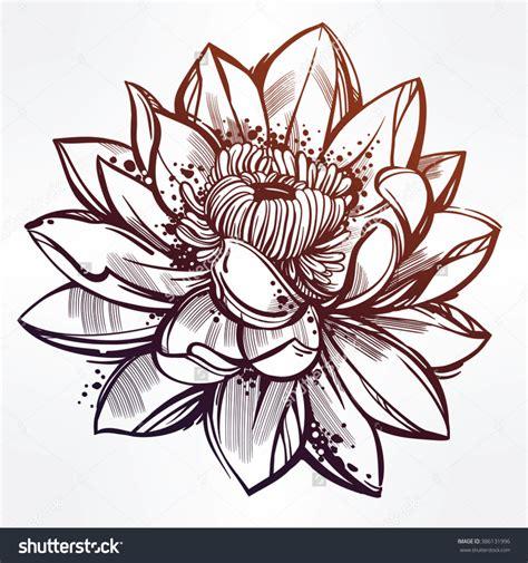 lotus flower drawing designs lotus flower drawing outline