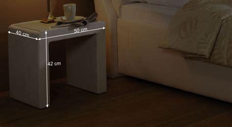 nachttisch glasplatte puristischer nachttisch mit glasplatte cremona