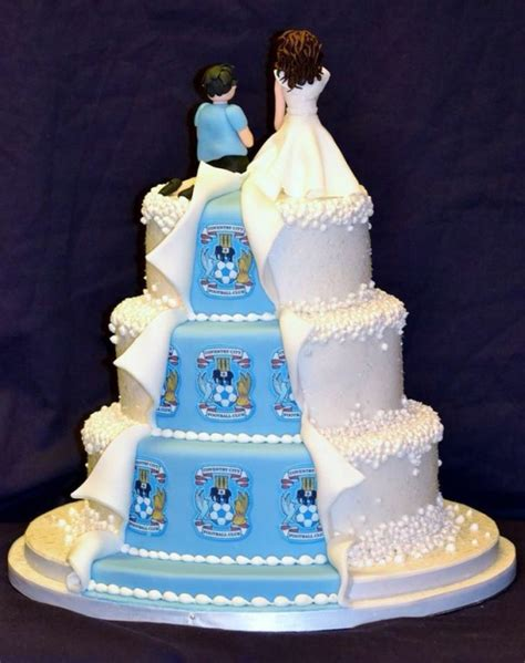 his and hers wedding cakes pin soccer cake cake on