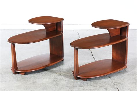 3 tier side table heywood wakefield 3 tier side tables vintage supply store