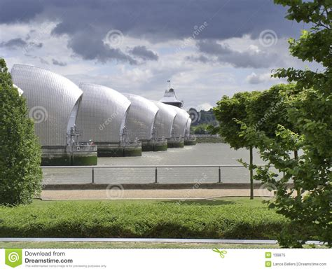 thames barrier animation barrier on thames royalty free stock photo image 139875