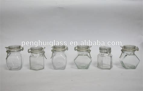 Mini Glass Spice Jars 100ml Mini Glass Spice Jar Small Airtight Glass Jar