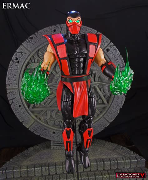 mk x figures ermac mortal kombat 6 inch custom figure by jin saotome on