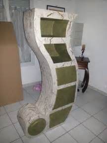 Paper Craft Furniture - meuble en 4 tiroirs et 2 niches cardboard and