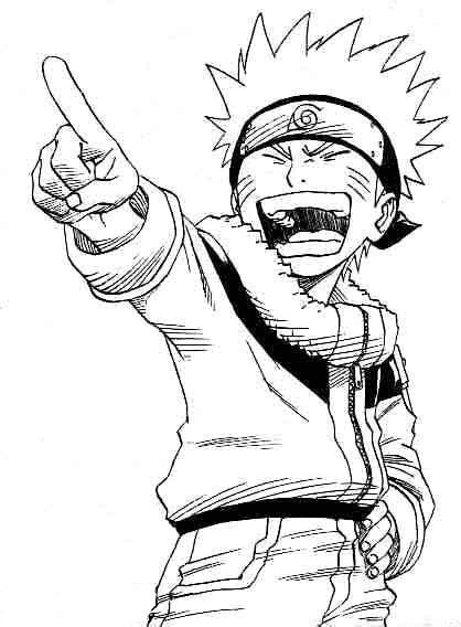 Coloriages à imprimer : Naruto, numéro : 4983