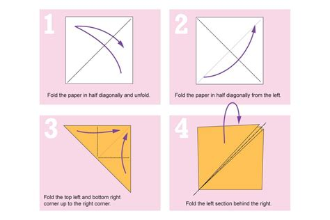 Easy Origami Fox - how to make an easy origami fox