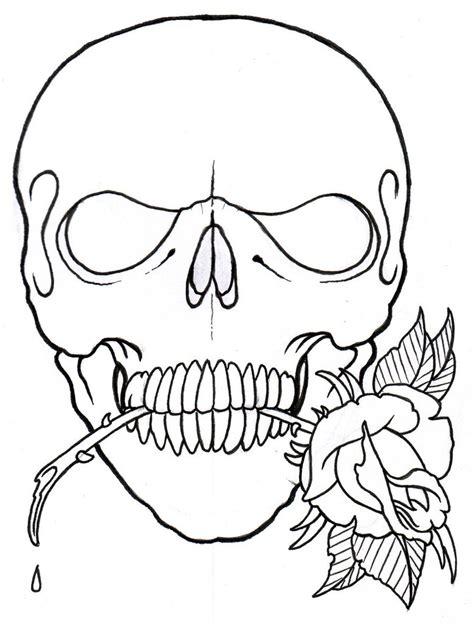skull tattoo outline designs blogs december 2010