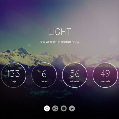 countdown html template 40 engaging construction template collection want