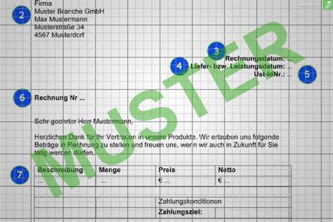 Musterrechnung Handwerk musterrechnung handwerk kostenlos herunterladen everbill
