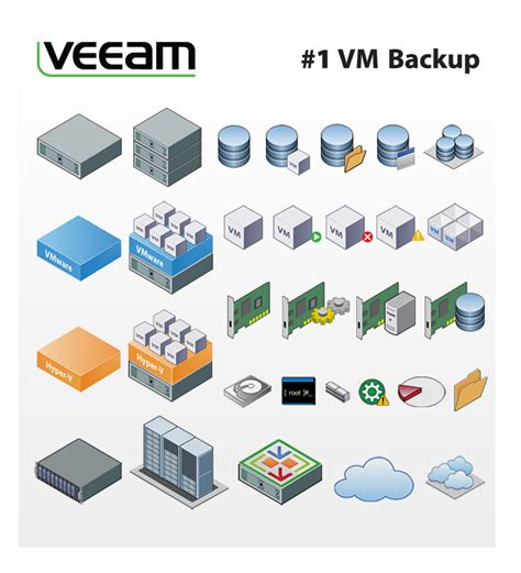 veeam visio stencils veeam stencils for drawing diagrams in microsof vmware
