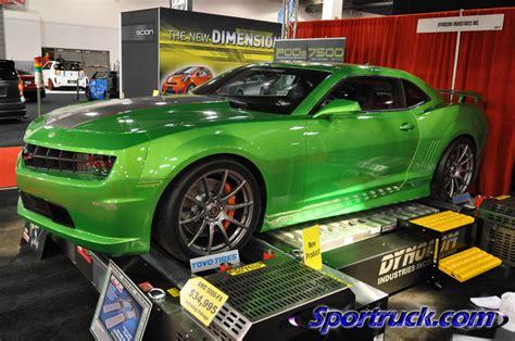 tunning customs camaro verde extreme