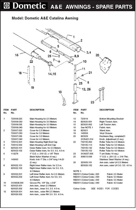 travel trailer awning replacement parts dometic rv awning parts diagram cing r v wiring