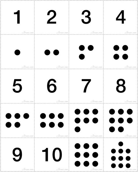 printable pictures of numbers 1 10 5 best images of printable numbers 1 10 for preschoolers