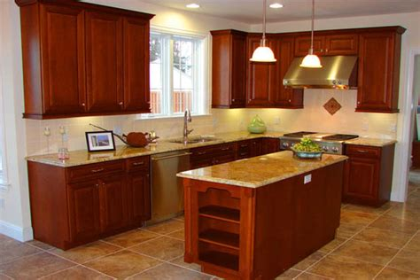 L Shaped Kitchen With Island Layout Small L Shaped Kitchen With Island Home Design Ideas Essentials