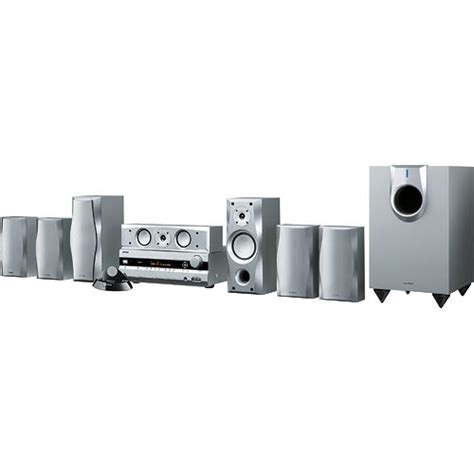 onkyo ht s5100s 7 1 channel home theater system ht s5100s b h