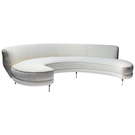 white curved sofa pri productions event al products