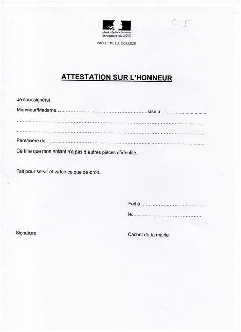 Exemple De Lettre Justificatif De Domicile Modele Justificatif De Domicile Pour Mineur Document