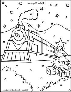 polar express coloring pages pdf polar express coloring sheets projects to try