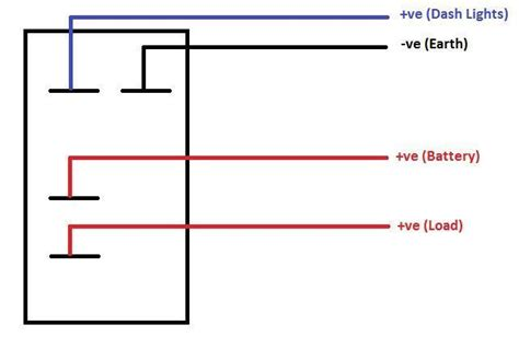 narva on rocker switch wiring diagram get free image