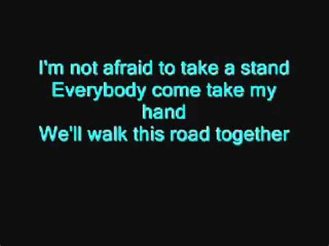eminem lyrics not afraid eminem not afraid lyrics youtube