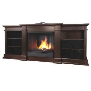 Gel Fireplace Canada by Real Fresno 72 In Media Console Gel Fuel Fireplace