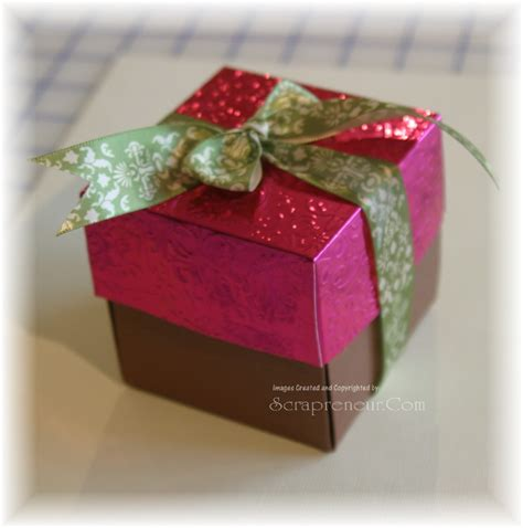 Handmade Gift Box - jinky s crafts designs 12 days of handmade