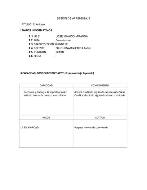 sesiones de cuarto grado de primaria 2015 newhairstylesformen2014 modelo de sesion de aprendizaje para cuarto de primaria