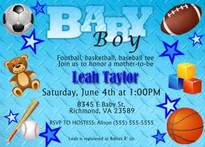 sports theme baby shower invitation kustom kreations