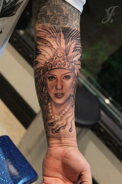 aztec woman tattoo johnny opina con sofos it s all about with respect