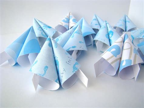 Origami Boy - boy origami 28 images set of 4 baby boy origami cards
