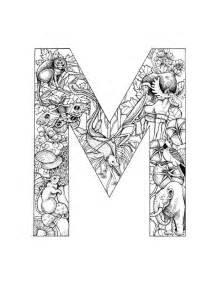 letter m coloring page free coloring pages of the letter m design