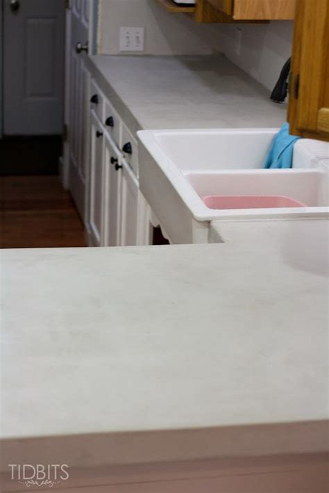 Concrete Countertop Finishing Techniques by Diy Feather Finish Concrete Countertops And How They