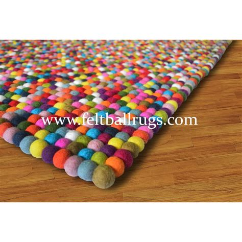 colorful rug rectangle square colorful rainbow felt rug felt rugs