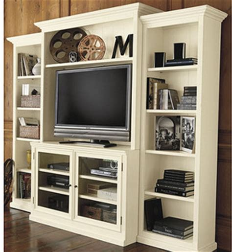 ballard designs tuscan bookcase tuscan media set 4 piece transitional entertainment