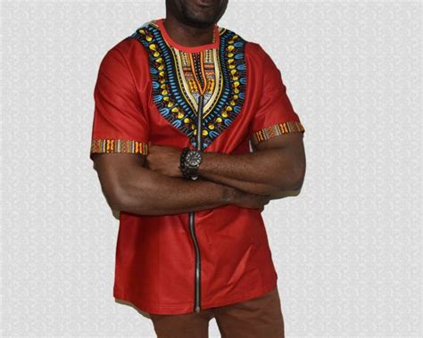 african kitenge shirts men s dashiki top ankara male shirt african shirts men