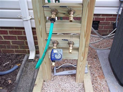 Outdoor Faucet Extension by Hometalk Hose Reel Solution For Yard And Garden Outdoor