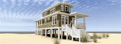 Beach House Plans by Beach House Plan With Walkout Sundeck 44124td