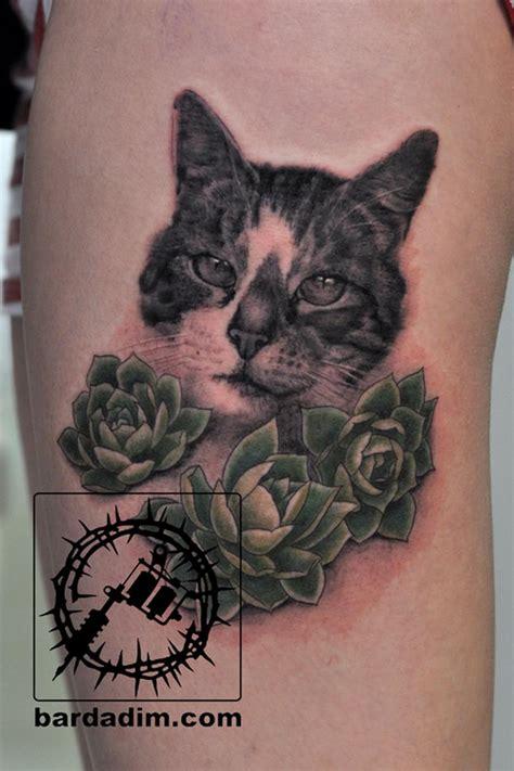 cat tattoo new york realistic cat tattoo by george bardadim tattoonow