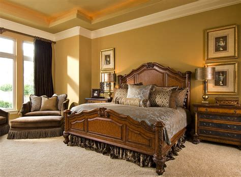 Restrained Gold Sherwin Williams traditional bedroom theme for warm and friendly house