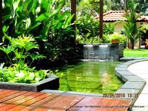 koi pond design malaysia teak element