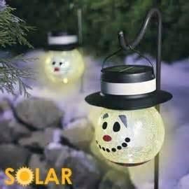 solar snowman lights snowman solar lights saves