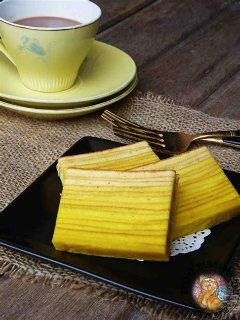 Lapis Durian Syapex Kitchen Kek Lapis Durian