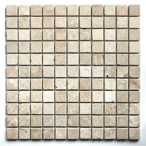 bathroom mosaic tiles white travertine tumbled wall floor mosaic tile