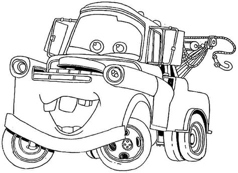 Mater Coloring Pages Coloring Pages Mater Coloring Pages
