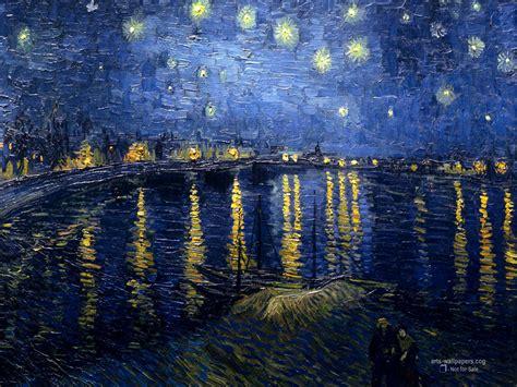 van gogh wallpaper for mac starry night wallpaper wallpapersafari