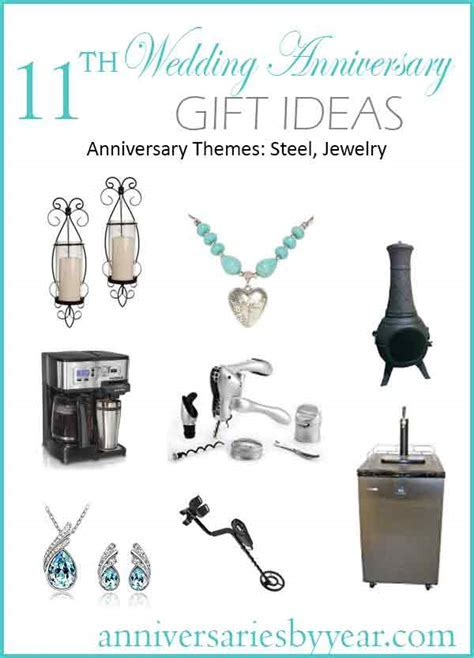 11th Anniversary   Eleventh Wedding Anniversary Gift Ideas