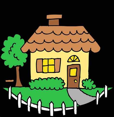 best house artists the images collection of clipart transparent house child drawing clipground no
