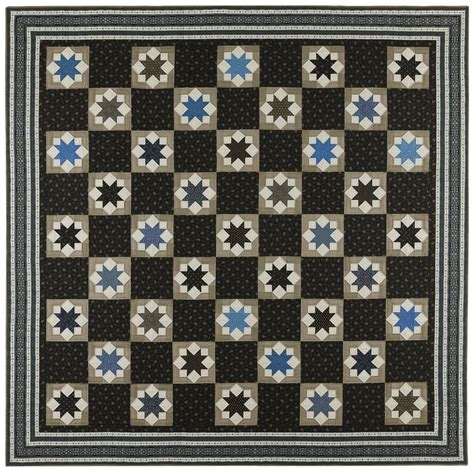 Blue And Gray Quilt Blue And Gray Quilt Pattern By Crinoline Quilts